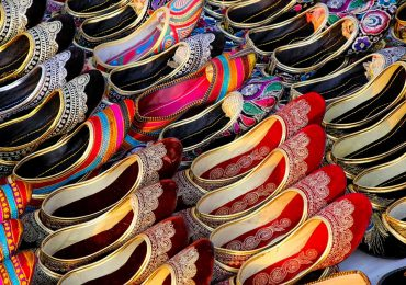 Colourful Markets in Jaipur in Rajasthan in India